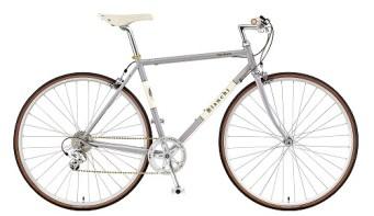 BIANCHI ( ビアンキ ) クロスバイク VIA BRERA ( ヴィア ブレラ ) 8 ラスター グレー 55 ( 適正身長 172-185cm )