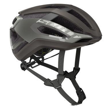 【ワイズロードオンライン限定特価】SCOTT ( スコット ) ヘルメット HELMET CENTRIC PLUS ダーク ブロンズ L☆ほかのサイズもございます