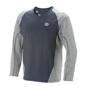 コラントッテ RESNO スイッチングシャツ ロングスリーブ グレー/ネイビー L