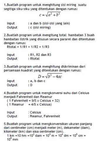 Rumus Hambatan Total : rumus, hambatan, total, Ujian, Pascal, Online