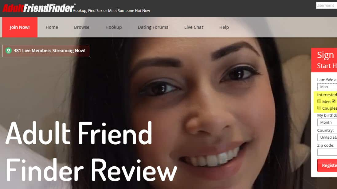 Adult friend finder review - Is Adult friend finder a scam or legit? 1