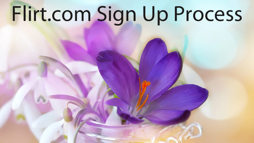 flirt.com sign up process