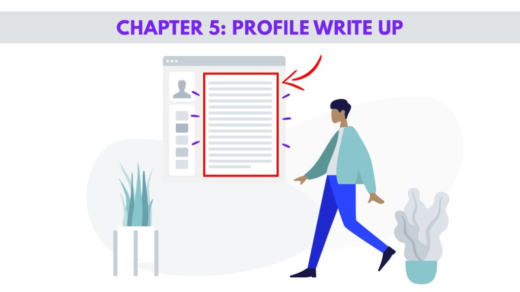 Chapter 5 – Profile Write up for Men