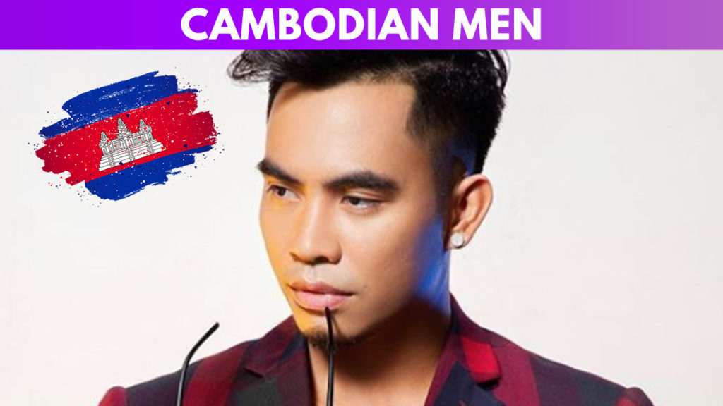 Cambodian men guide
