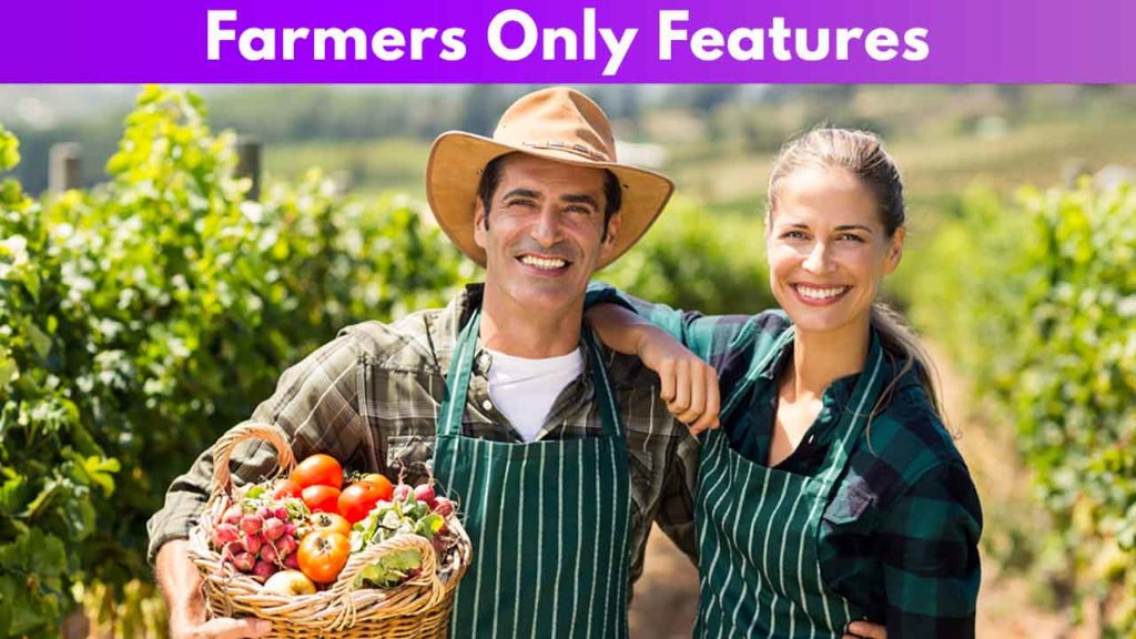 Farmers Only Features