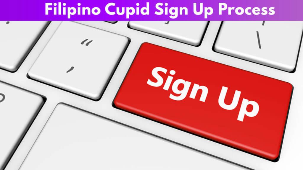 Filipino Cupid sign up process