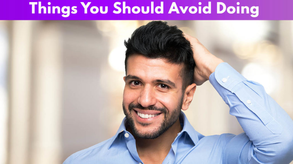 Things You Should Avoid Doing