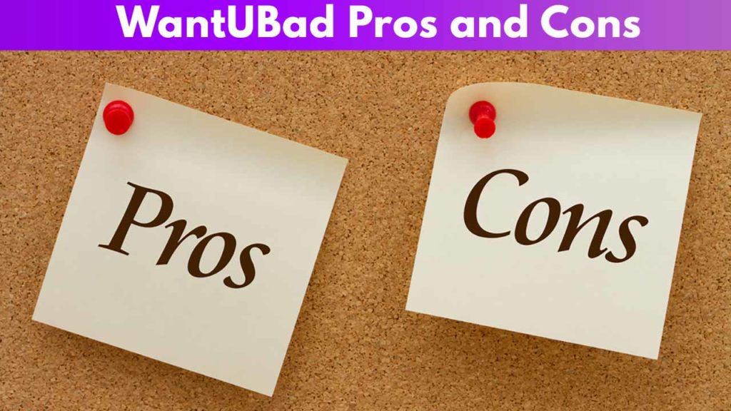 WantUBad Pros and Cons