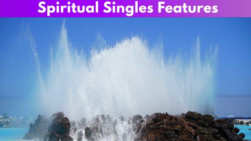Spiritual Singles Features