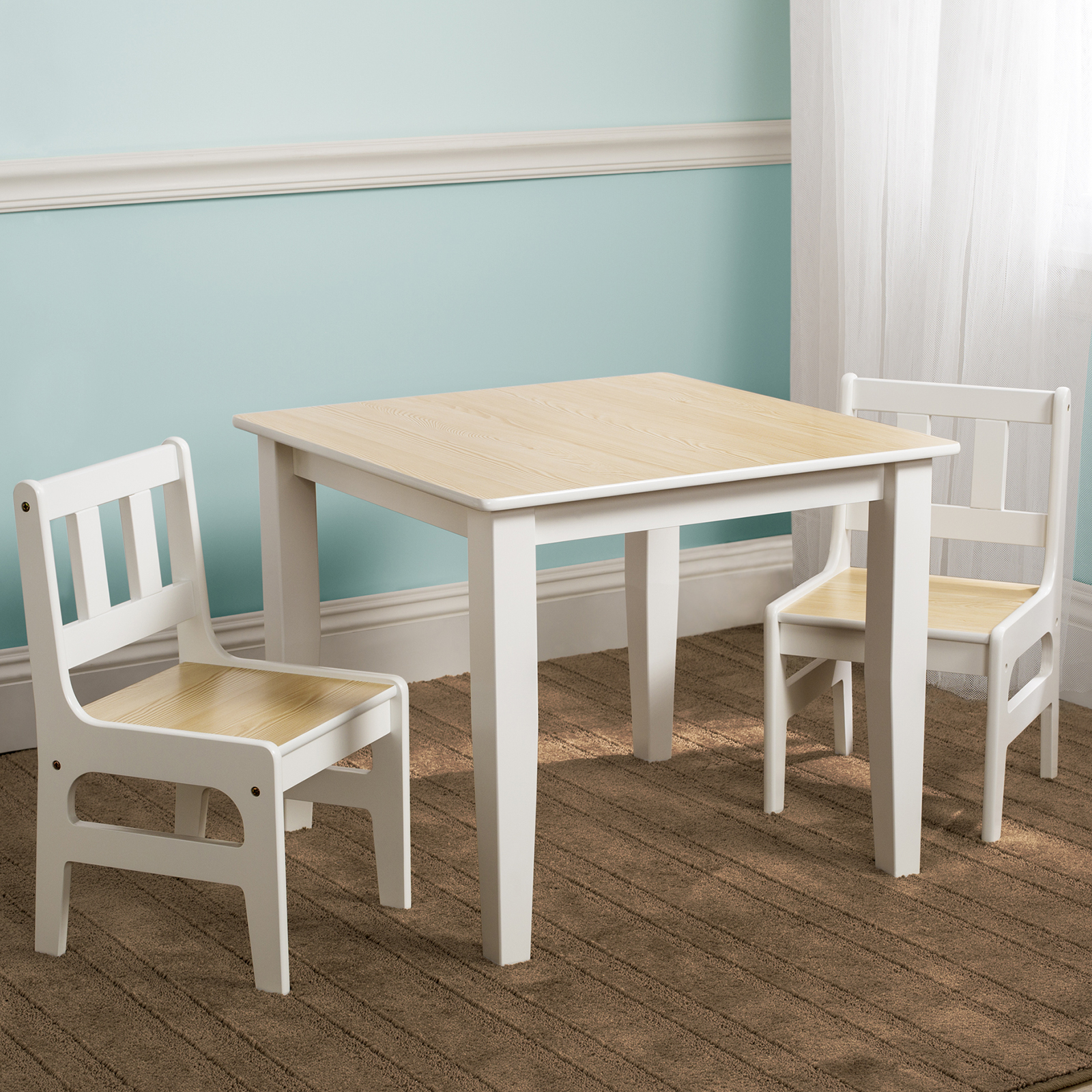 Wooden Kids Table And Chairs New Delta Children Natural Kids Wooden Table And Chairs Set