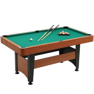 EXB057009-Τραπέζι μπιλιάρδου Chicago 5 Garlando 176 x 96cm | Online 4U Shop