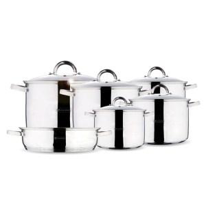 HGΟ705019-JUMBO Μαγειρικά σκεύη 11τεμ Blaumann BL-3114 | Online 4U Shop