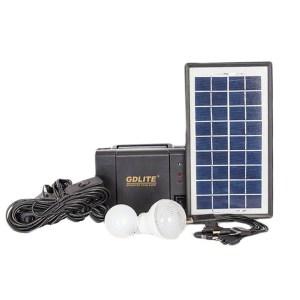 HGH303005-Ηλιακό Σύστημα Φωτισμού & Φόρτισης 6W KEJIA KJ-018 | Online4U Shop
