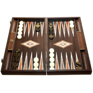 EDE900044-Συλλεκτικό τάβλι καρυδιάς με πέρλα manopoulos BWV1 | Online 4U Shop