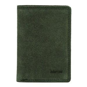 EDA757028 Πορτοφόλι δερμάτινο ανδρικό πράσινο Marvel 49780110
