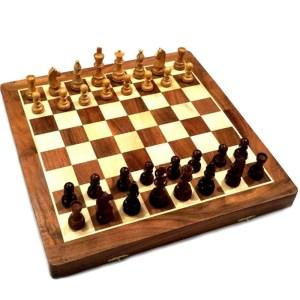 EDE854032-Ξύλινη Σκακιέρα αναδιπλούμενη Dal Negro 901013 | Online 4U Shop