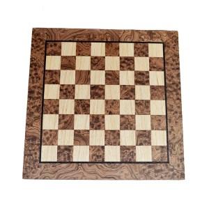 EDE854041-Σκακιέρα Χειροποίητη Καρυδιά-Δρυς WB40J Μanopoulos | Online 4U Shop