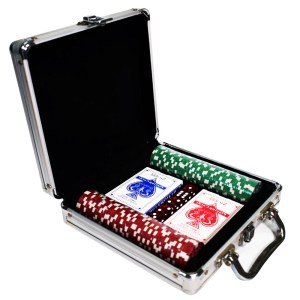 EDE905023-Βαλίτσα 100 μάρκες Πόκερ,ζάρια,τράπουλες SuperGifts700107 | Online4U