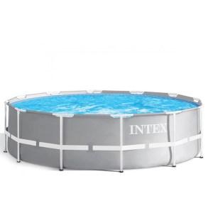 HGP552025-Πισίνα με Μεταλλικό Σκελετό Prism 366 x 99 Intex 26716 | Online 4U Shop