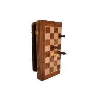 EDE854063-Ξύλινο μαγνητικό σκάκι 25x25 Supergifts 901006 | Online4u Shop