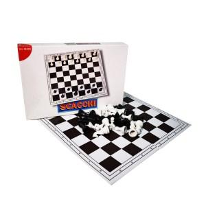 Αναδιπλούμενο σκάκι από PVC 41x41 Dal Negro 200401 | Online4u Shop