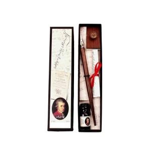 EDA751008 Πένα Κονδυλοφόρος με μελάνι στυλ αντίκα Francesco Rubinato MOZ/24