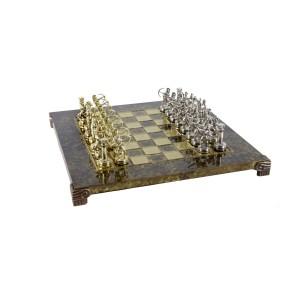 EDE854001-01 Χειροποίητο μεταλλικό σετ σκακιού με τοξότες
