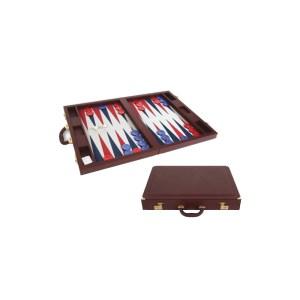 EDE900020 Τάβλι πολυτελείας βαλίτσα από δερματίνη Dal Negro 200306