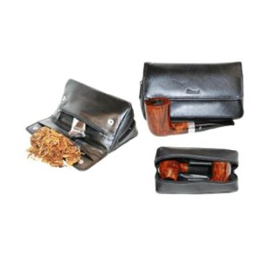 EDK006023 Θήκη καπνού πίπας δερμάτινη καπνοσακούλα Peterson PT-137