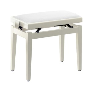EXM455003 Ρυθμιζόμενο κάθισμα πιάνου Stagg PB05 WHP VWH