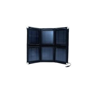 HAC302010-01 Αναδιπλούμενος ηλιακός φορτιστής 18W - 5V/18V με ρυθμιστή για φόρτιση μπαταριών 12V
