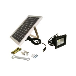 HGH309005 Ηλιακός προβολέας 16 SMD LED με ψυχρό λευκό χρώμα