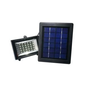 HGH309006-01 Ηλιακός προβολέας 30 LED με θερμό λευκό χρώμα