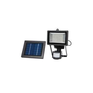 HGH309013-01 Ηλιακός προβολέας ασφαλείας 60 LED με λευκό χρώμα και ανιχνευτή