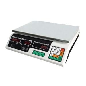 OM259008 Ψηφιακή ζυγαριά λιανικής πάγκου 40 kgr διπλής οθόνης ACS-40