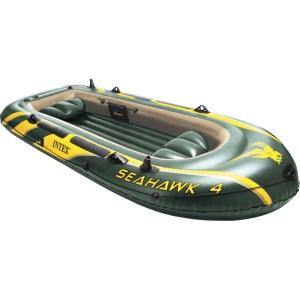 Φουσκωτή Βάρκα INTEX Seahawk4 πλήρες SET 68351 | Online 4U Shop