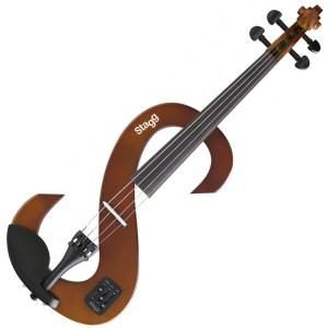 Ηλεκτρικό Βιολί 4/4 Καφε STAGG EVN | Online 4U