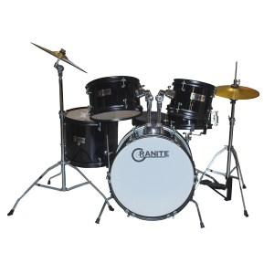 Παιδικά drums GRANITE Rock Black Junior Kit | Online 4U Shop