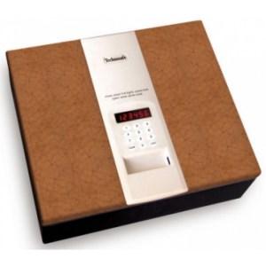 Χρηματοκιβώτιο δαπέδου με δέρμα Technosafe CS/4HN | Online 4U Shop