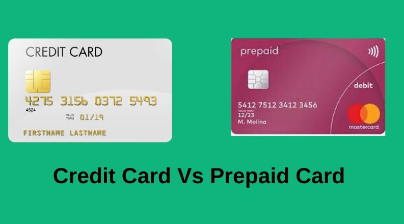 credit card vs prepaid card