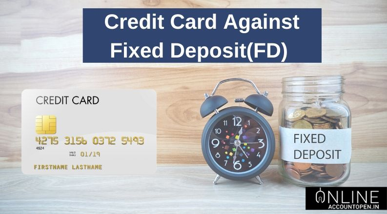 credit card against FD