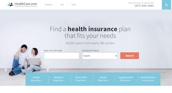 HealthCare.com website