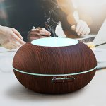 300ml-Cool-Mist-Humidifier-Ultrasonic-Aroma-Essential-Oil-Diffuser-Premium-Humidifying-Automatic-Shut-off-and-Night-Light-Function-for-Office-Home-Bedroom-Living-Room-Study-Yoga-Spa-0-1