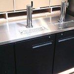 60-Dual-Tap-Keg-Beer-Can-Bottle-Dispenser-Refrigerator-Stainless-Steel-Top-UDD-24-60-Kegerator-Fridge-0-2