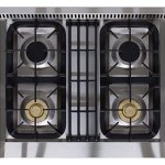 AGA-APRO30DFSS-30-Professional-Dual-Fuel-Range-with-RapidBake-Convection-Stainless-Steel-0-1