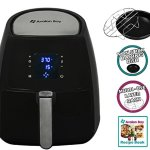 Air-Fryer-by-Avalon-Bay-For-Healthy-Fried-Food-37-Quart-Capacity-Includes-Free-Airfryer-Baking-Set-and-Recipe-Book-Black-AB-Airfryer220SS-0