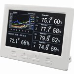Ambient-Weather-WS-3000-X5-Wireless-Thermo-Hygrometer-with-Logging-Graphing-Alarming-Radio-Controlled-Clock-with-5-Remote-Sensors-White-0-1