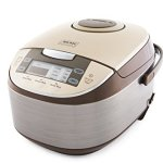 Aroma-Professional-6-Cups-Uncooked-Rice-Cooker-Food-Steamer-Silver-ARC-6106-0