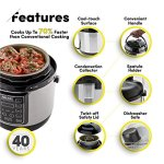 Aroma-Professional-8-Cup-Cooked-4-Cup-Uncooked-Digital-Cool-Touch-Turbo-Rice-Pressure-Cooker-Silver-APC-805SB-0-0