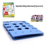 Brand-New-Adjustable-Magic-Fast-Folder-Clothes-Folding-Board-3pcs-in-0
